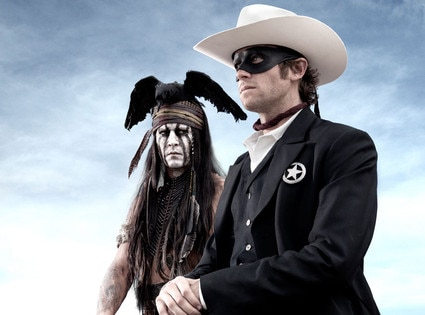 Johnny Depp, Armie Hammer, The Lone Ranger