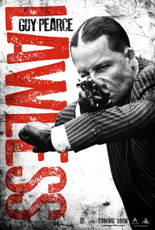 Lawless Poster, Guy Pearce