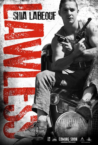 Lawless Poster, Shia LaBeouf
