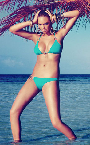 Kate Upton, Beach Bunny Ad Campaign
