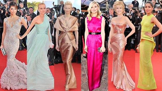 Eva Longoria, Diane Kruger, Tilda Swinton, Kirsten Dunst, Jane Fonda, Frieda Pinto