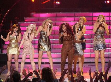 American Idol Finale, Chaka Kahn, Lady Finalists
