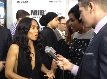 Jada Pinkett Smith, Men in Black Premiere