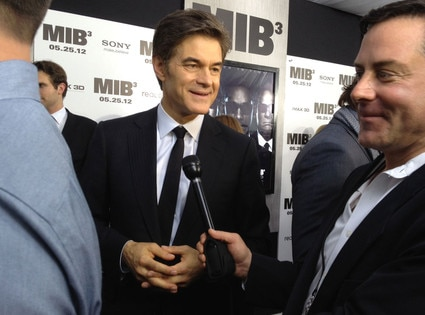 Dr. Oz, Men in Black 3 Premiere