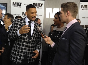 Will Smith, Men in Black 3 Premiere