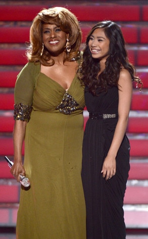 Jessica Sanchez, American Idol Finale, Jennifer Holliday