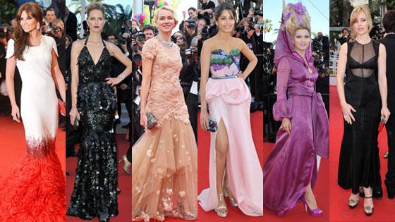 Cheryl Cole, Karolina Kurkova, Naomi Watts, Freida Pinto, Elena Lenina, Melissa George