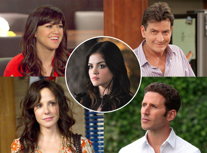 Kelly Clarkson, Duets, Mark Feuerstein, Royal Pains, Lucy Hale, Pretty Little Liars, Mary Louise Parker, Weeds, Charlie Sheen, Anger  M