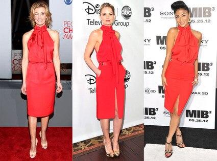 Faith Hill, Jennifer Morrison, Nicole Scherzinger