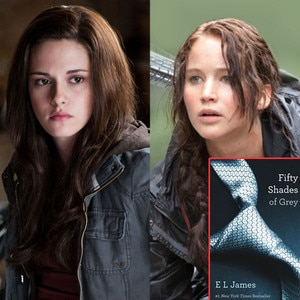 Kristen Stewart, Jennifer Lawrence, Fifty Shades of Grey