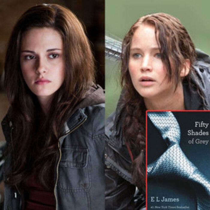 Kristen Stewart, Jennifer Lawrence, Fifty Shades of Grey