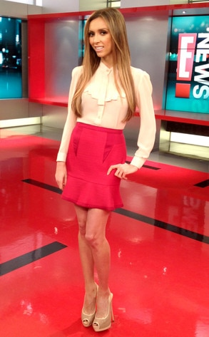 Giuliana Wardrobe, Weekend Show