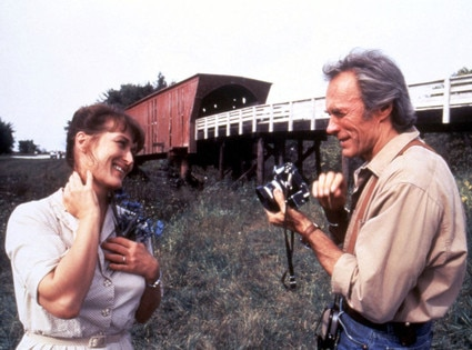 Clint Eastwood, Meryl Streep, The Bridges of Madison County