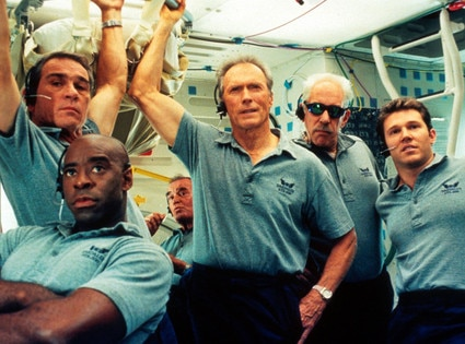 Clint Eastwood, Space Cowboys, Tommy Lee Jones, James Garner, Courtney B. Vance, Douglas Sutherland, Loren Dean