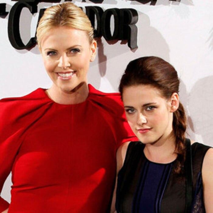 Charlize Theron, Kristen Stewart