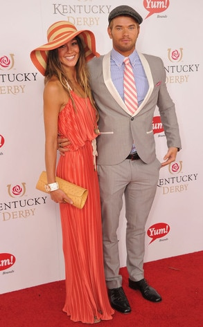 Kentucky Derby, Sharni Vinson, Kellan Lutz