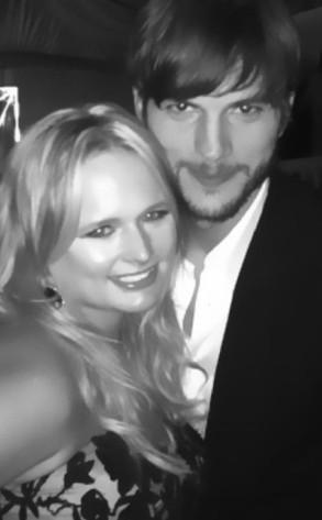 Miranda Lambert, Ashton Kutcher
