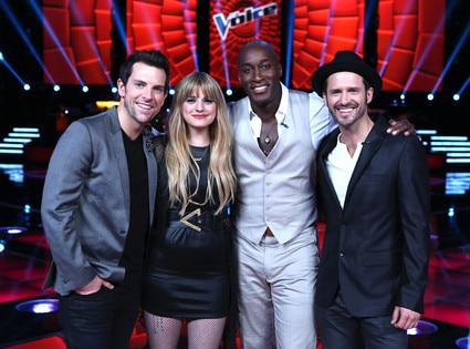 THE VOICE, Chris Mann, Juliet Simms, Jermaine Paul, Tony Lucca