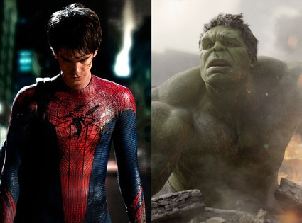 Andrew Garfield, The Amazing Spider-Man, Mark Ruffalo, The Avengers