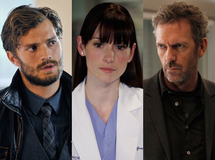House, Hugh Laurie, Grey's Anatomy, Chyler Leigh, Once Upon a Time, Jamie Dornan