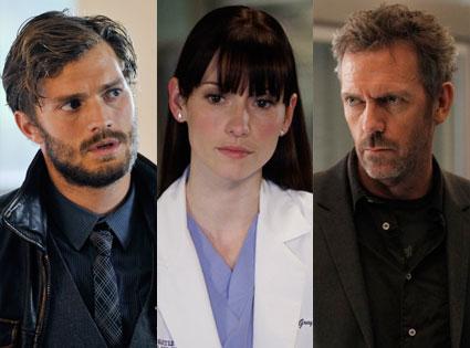 House, Hugh Laurie, Grey's Anatomy, Chyler Leigh, Once Upon a Time, Jamie Dornan