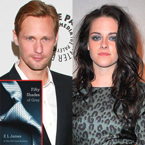 Alexander Skarsgard, Kristen Stewart, Fifty Shades of Grey