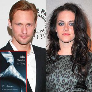 Alexander Skarsgard, Kristen Stewart, Fifty Shades of Grey