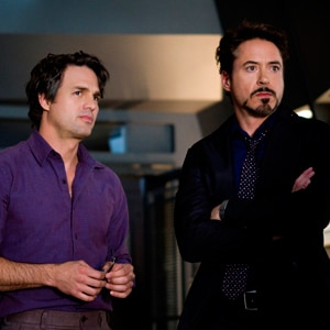Avengers, Mark Ruffalo, Robert Downey Jr.