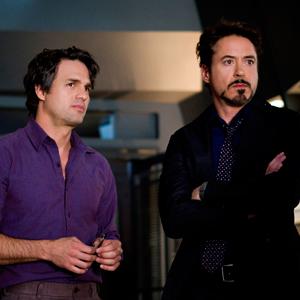 Avengers, Mark Ruffalo, Robert Downey Jr.
