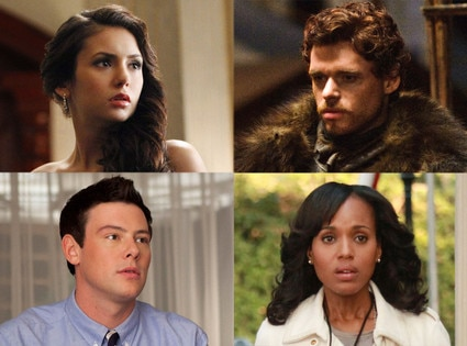 ry Monteith, Glee Nina Dobrev, Vampire Diaries Richard Madden, Game of Thrones Kerry Washington, Scandal
