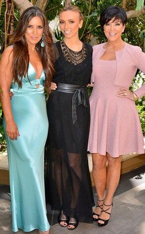 Jillian Reynolds, Giuliana Rancic, Kris Jenner