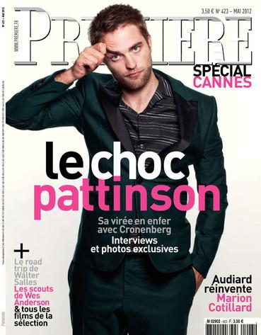 Rob Pattinson Premiere Cover