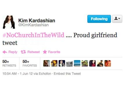 Kim Kardashian, Tweet