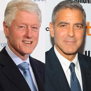 Bill Clinton, George Clooney