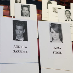 MTV Movie Awards seating chart