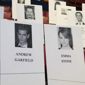 MTV Movie Awards seating chart