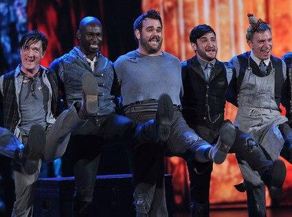 Tony Awards, Newsies Cast