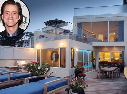 Jim Carrey, Malibu Home