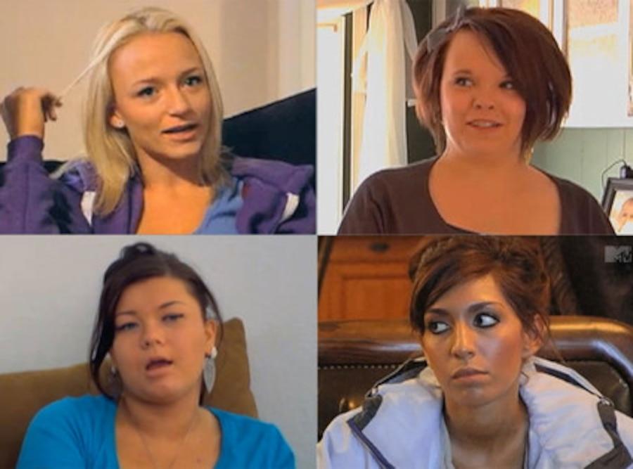 Teen Mom, Farrah, Amber, Maci, Catelyn