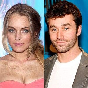 Lindsay Lohan, James Deen