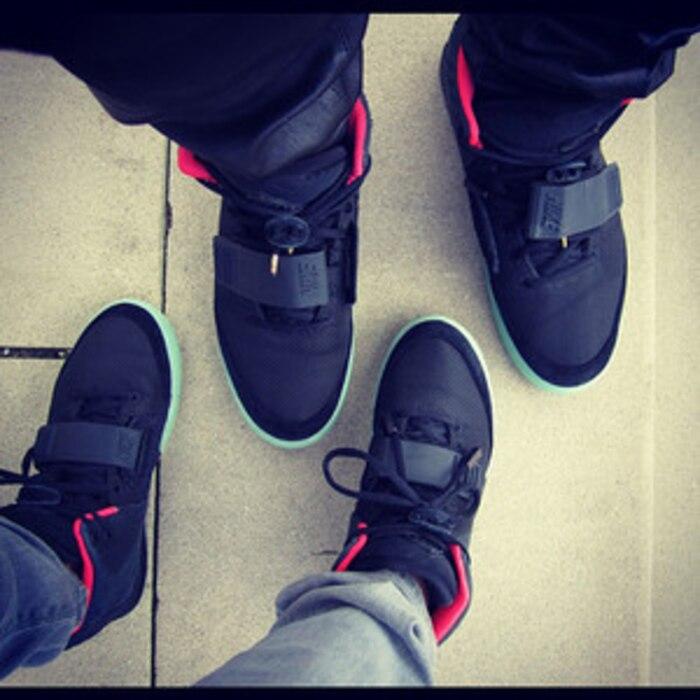 Chelsea Kim Kanye Same Shoes X2