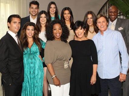 Oprah Winfrey, Kardashian Jenner Family