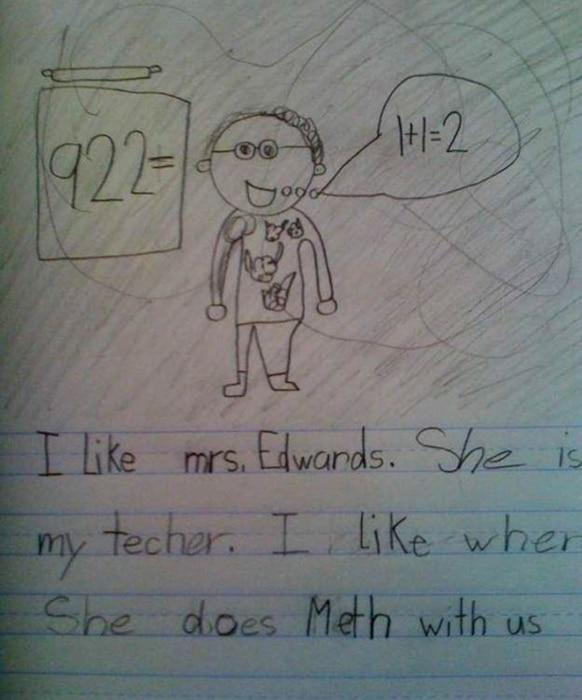 Meth Teacher Drawing Soup X2