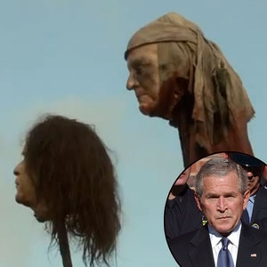 George Bush, Game of Thrones Head