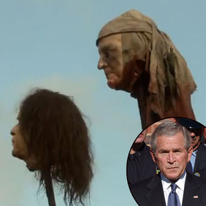 George Bush, Game of Thrones Head