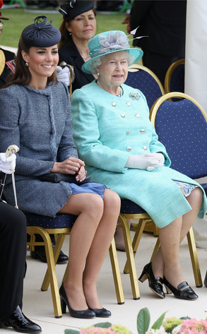 Catherine, Duchess of Cambridge, Queen Elizabeth II