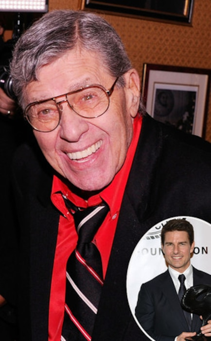 Jerry Lewis, Tom Cruise