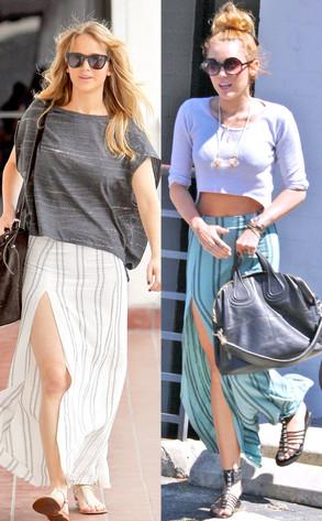 Miley Cyrus, Jennifer Lawrence, BSML