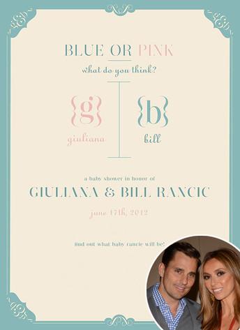Bill Rancic, Giuliana Rancic, Baby Shower