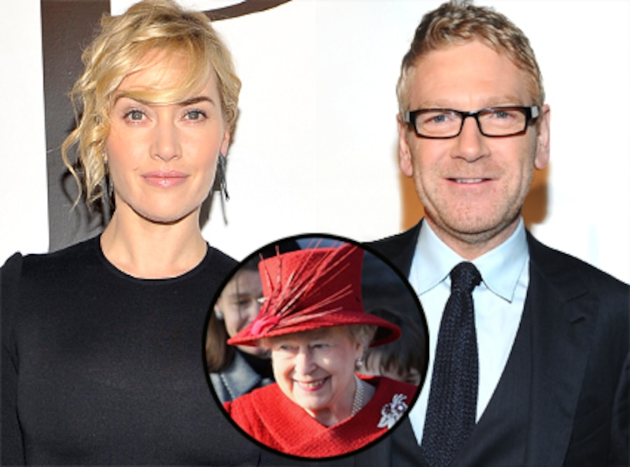 Kate Winslet, Kenneth Branagh, Queen Elizabeth